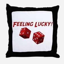 Feeling Lucky Throw Pillow