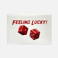 Feeling Lucky Rectangle Magnet