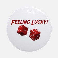 Feeling Lucky Ornament (Round)