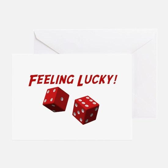 Feeling Lucky Greeting Card