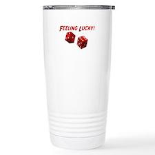 Feeling Lucky Travel Coffee Mug