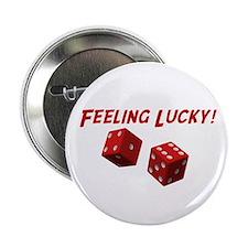 """Feeling Lucky 2.25"""" Button"""