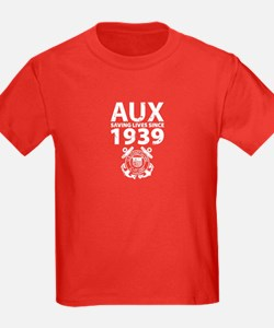 AUX Distressed Kids Dark Tee