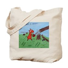 Cute Logging Tote Bag