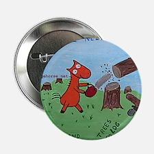 "Cute Lumberjack 2.25"" Button"