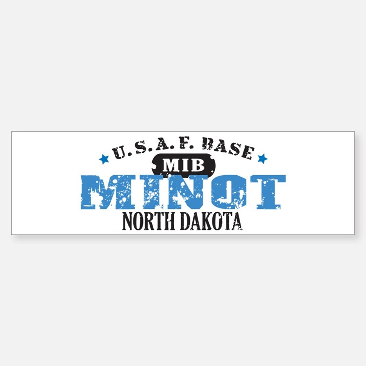 Minot Air Force Base Bumper Bumper Bumper Sticker