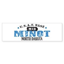 Minot Air Force Base Bumper Bumper Sticker