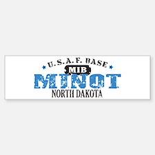 Minot Air Force Base Bumper Car Car Sticker