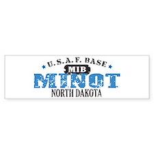 Minot Air Force Base Bumper Car Sticker