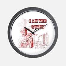 I am the Queen Wall Clock