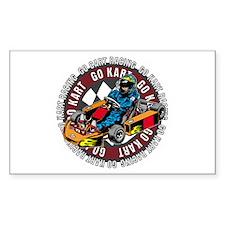 Go Kart Racing Decal