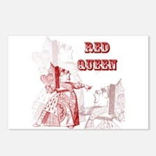 The Red Queen Postcards (Package of 8)