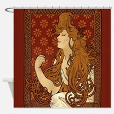 art-nouveau-long-hair-woman-red_sb.jpg Shower Curt