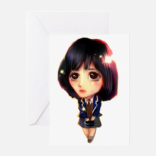 """""""Koo Hye Sun"""" Greeting Card"""