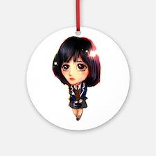 """Koo Hye Sun"" Ornament (Round)"