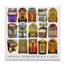 Jukeboxes Galore! Tile Coaster