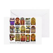 Jukeboxes Galore! Greeting Cards (Pk of 10)
