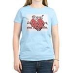Raul broke my heart and I hate him Women's Light T