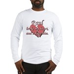 Raul broke my heart and I hate him Long Sleeve T-S