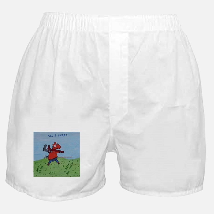Cute Plumbers crack Boxer Shorts
