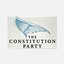 Constution Party Rectangle Magnet (100 pack)