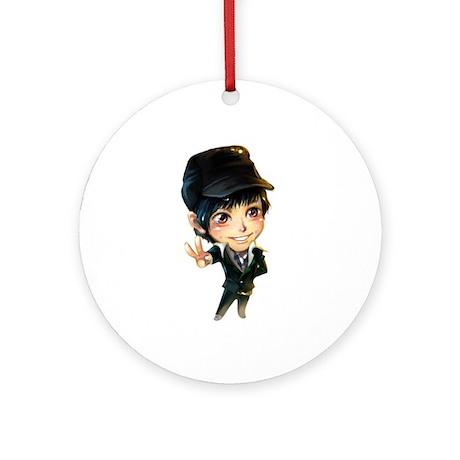 """Kim Bum"" Ornament (Round)"