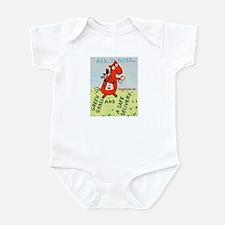Horse Mailman Infant Bodysuit