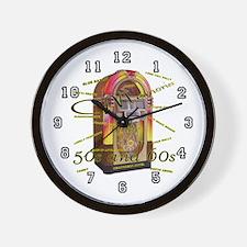 JUKE BOX Wall Clock /10 inch