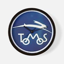 Cute Moped Wall Clock