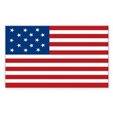 Star-Spangled Banner Flag Rectangle Bumper Stickers