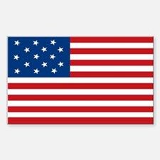 Star-Spangled Banner Flag Rectangle Decal