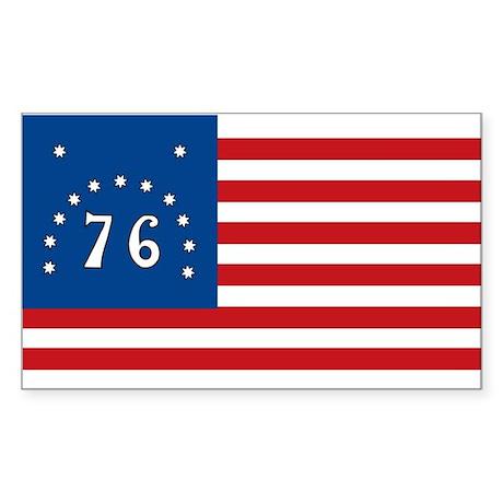 Bennington Battle Flag Rectangle Sticker