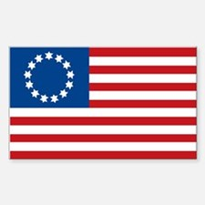 Francis Hopkinson Flag (1777) Rectangle Decal