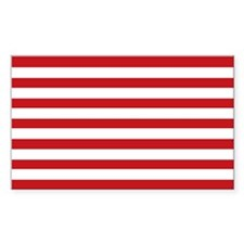 13 Strip Sons of Liberty Flag Rectangle Sticker 5