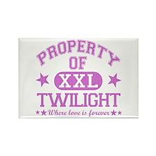 XXL Pink Rectangle Magnet