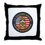 U S Customs Berlin Throw Pillow