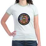 U S Customs Berlin Jr. Ringer T-Shirt