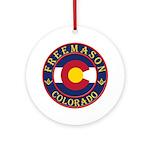 Colorado Masons Ornament (Round)