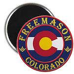 Colorado Masons Magnet