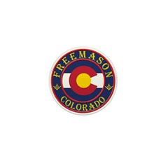 Colorado Masons Mini Button