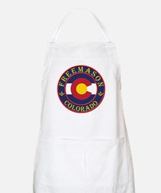 Colorado Masons BBQ Apron