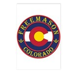Colorado Masons Postcards (Package of 8)