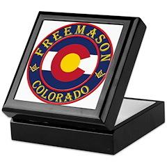 Colorado Masons Keepsake Box