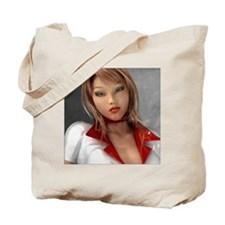 Sexy 3D Babes Tote Bag