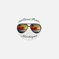Michigan - Holland Beach Mini Button