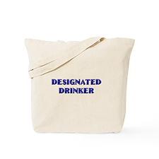 Designated Drinker Tote Bag
