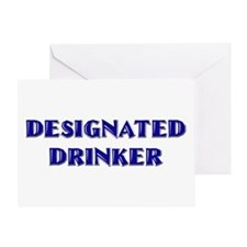 Designated Drinker Greeting Card