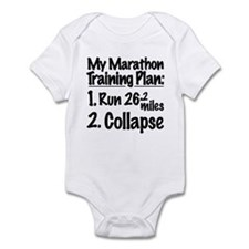 My Marathon Training Plan Infant Bodysuit