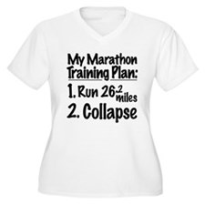 My Marathon Training Plan T-Shirt