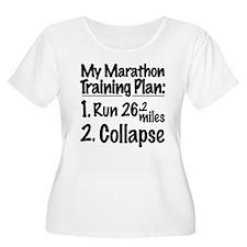My Marathon Training Plan T-Shirt